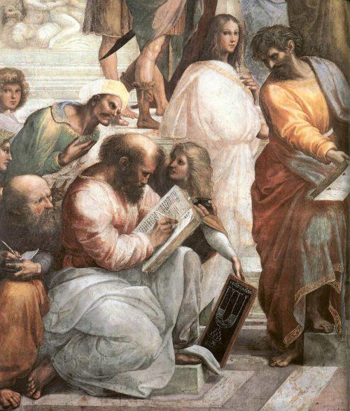 Pythagore et ses élèves