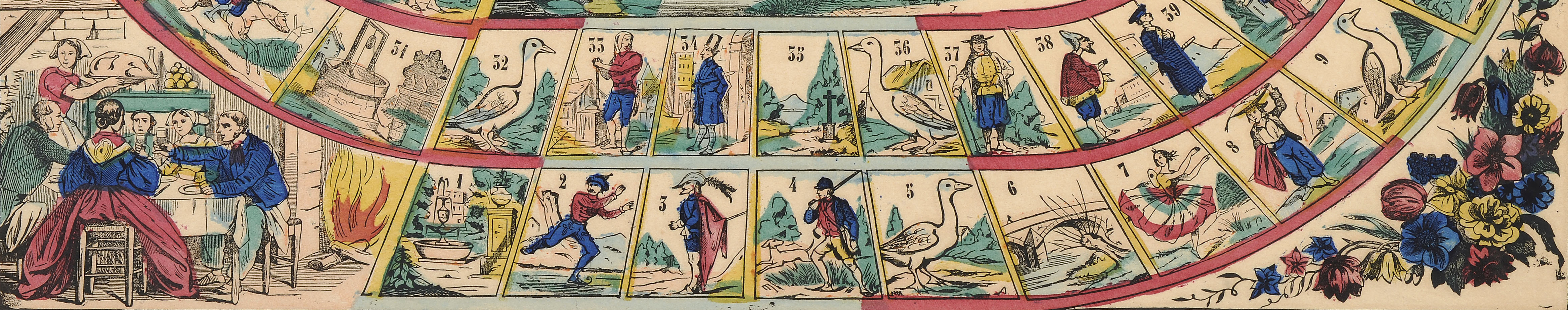 Symbolisme du jeu de l'oie