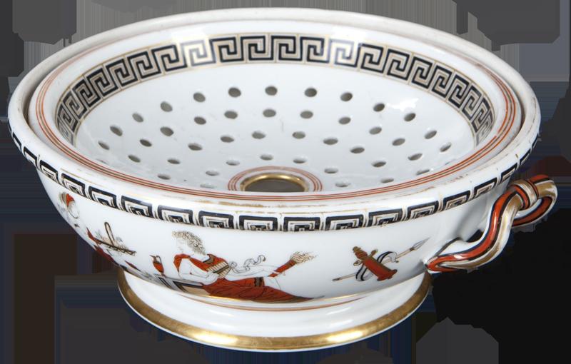 passoire porcelaine