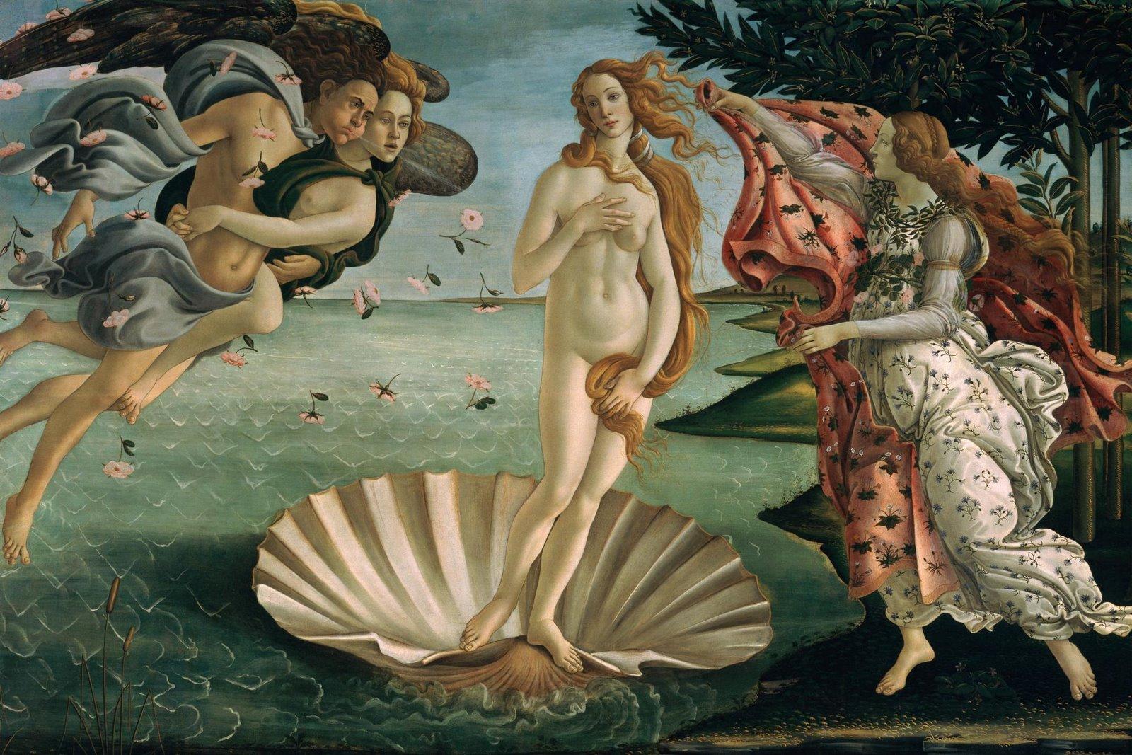 botticelli la naissance de vénus