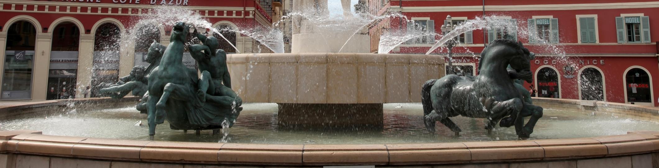 La Fontaine du Soleil de Nice<br> Un monument alchimique</br>