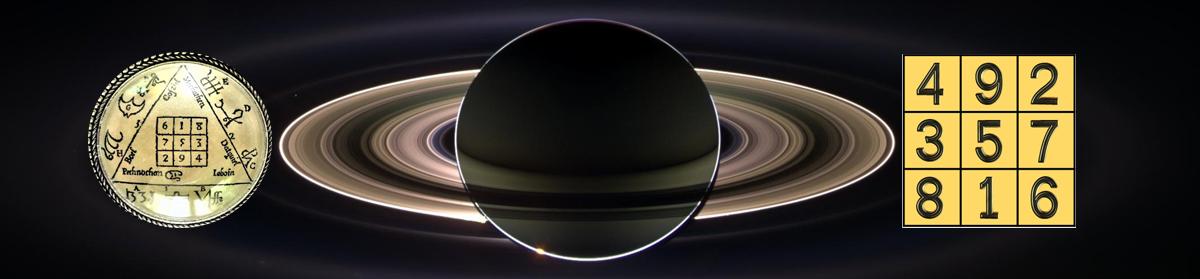 Carrés magiques : <br>Le carré de Saturne